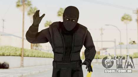 Mortal Kombat X Klassic Noob Saibot para GTA San Andreas