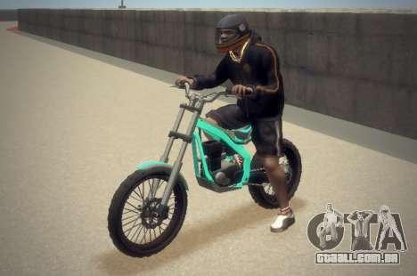 Trial Sanchez para GTA 4 vista de volta