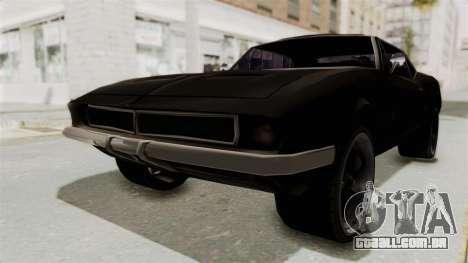 Chevrolet Camaro SS 1968 para GTA San Andreas