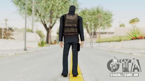 Bourne Conspirancy Euro Mercenary para GTA San Andreas terceira tela
