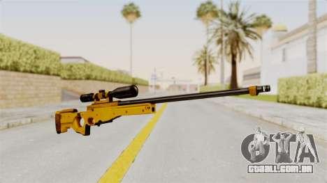 L96A1 Gold para GTA San Andreas