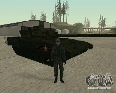 Modern Russian Soldiers pack para GTA San Andreas oitavo tela