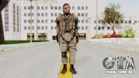 MGSV The Phantom Pain Venom Snake Desert para GTA San Andreas segunda tela