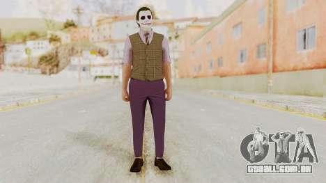 Joker Skin para GTA San Andreas segunda tela