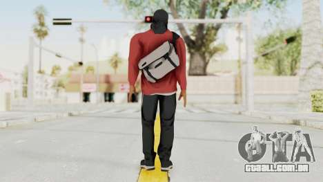 Battlefiled Hardline Professional Gang para GTA San Andreas terceira tela