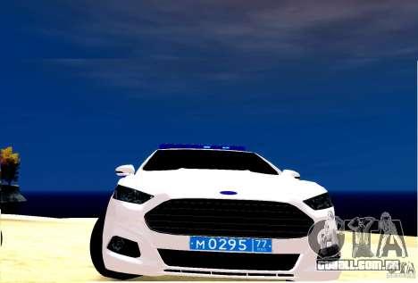 Ford Mondeo Russian Police para GTA 4 esquerda vista