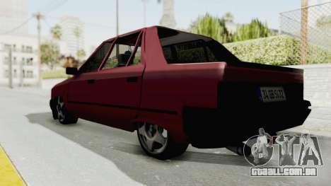 Renault Broadway v2 para GTA San Andreas traseira esquerda vista