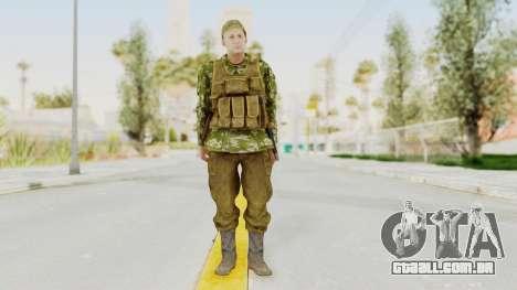 MGSV The Phantom Pain Soviet Union Vest v2 para GTA San Andreas segunda tela