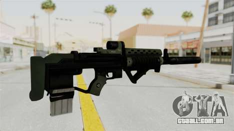 Killzone - M82 Assault Rifle Supressed para GTA San Andreas segunda tela