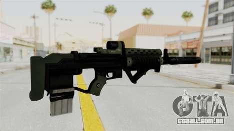 Killzone - M82 Assault Rifle Supressed para GTA San Andreas segunda tela