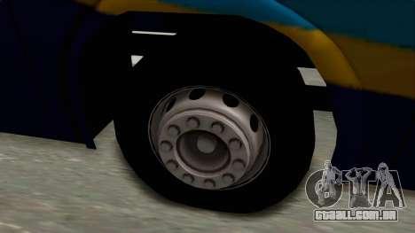 Marcopolo UUM Bus para GTA San Andreas vista traseira