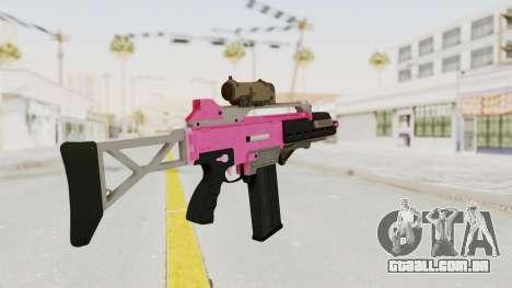 Special Carbine Pink Tint para GTA San Andreas segunda tela