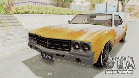 GTA 5 Declasse Sabre GT2 para vista lateral GTA San Andreas