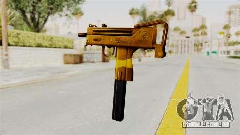 MAC-10 Gold para GTA San Andreas segunda tela