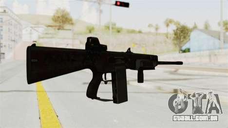 AA-12 Eotech Holo para GTA San Andreas segunda tela