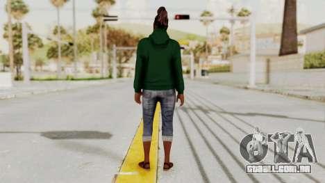 GTA 5 Denise Clinton v2 para GTA San Andreas terceira tela