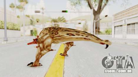 Bullsquid from Half-Life 1 para GTA San Andreas terceira tela