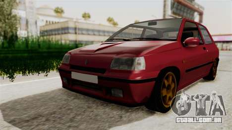 Renault Clio Williams para GTA San Andreas vista direita