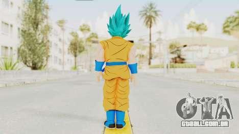 Dragon Ball Xenoverse Goku SJ para GTA San Andreas terceira tela