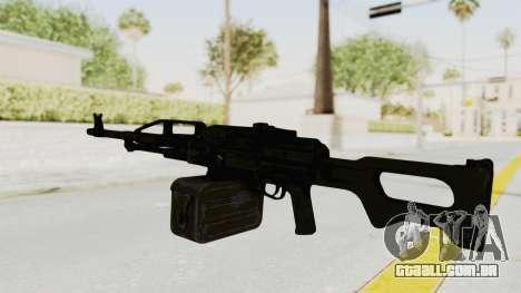 PKM 7.62mm Battlezone Mod para GTA San Andreas segunda tela