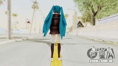 Project Diva F2nd - Hatsune Miku (Rolling Girl) para GTA San Andreas terceira tela