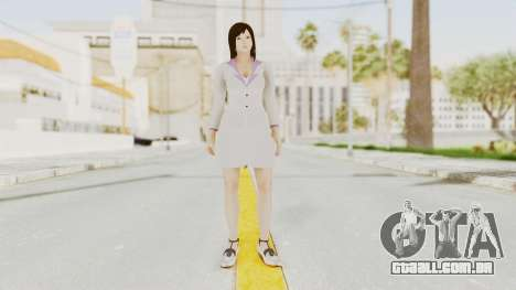 Dead Or Alive 5 - Kokoro Business para GTA San Andreas segunda tela