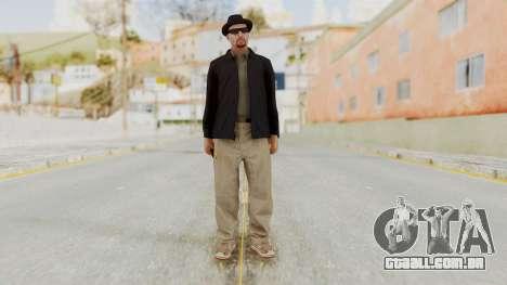 Walter White Heisenberg v1 GTA 5 Style para GTA San Andreas segunda tela