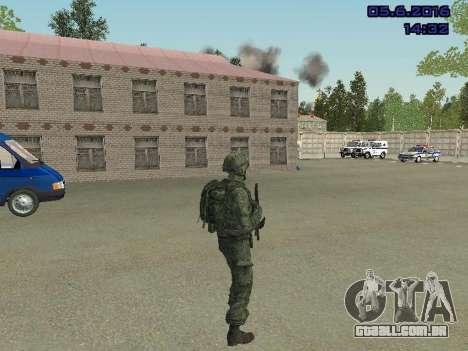 Modern Russian Soldiers pack para GTA San Andreas sexta tela