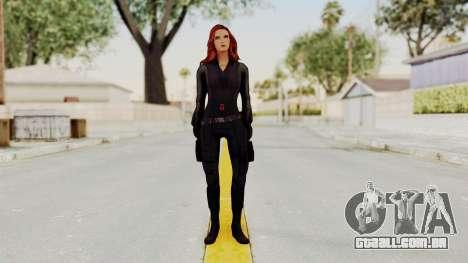 Captain America Civil War - Black Widow para GTA San Andreas segunda tela