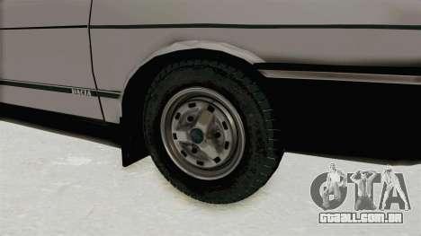 Dacia 1310 TX 1986 para GTA San Andreas vista traseira