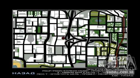 LSPD New Garage para GTA San Andreas sexta tela