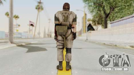 MGSV The Phantom Pain Venom Snake No Eyepatch v3 para GTA San Andreas terceira tela