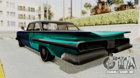 Beater 1962 Voodoo para GTA San Andreas esquerda vista