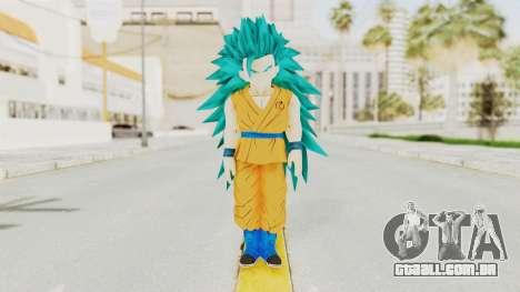 Dragon Ball Xenoverse Gohan Teen DBS SSGSS3 v2 para GTA San Andreas segunda tela