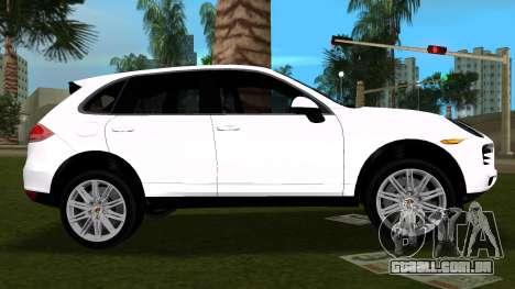 Porsche Cayenne 2012 para GTA Vice City deixou vista