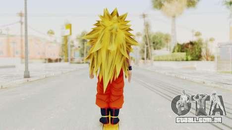 Dragon Ball Xenoverse Goku SSJ3 para GTA San Andreas terceira tela