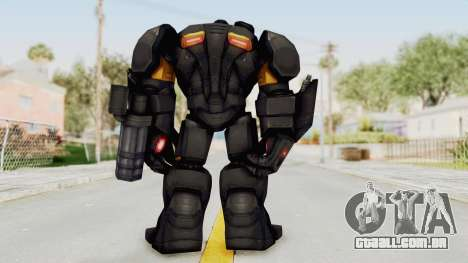 Marvel Future Fight - Hulk Buster Heavy Duty v2 para GTA San Andreas terceira tela