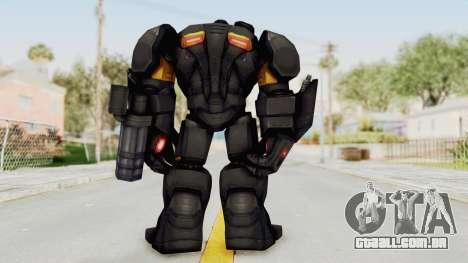 Marvel Future Fight - Hulk Buster Heavy Duty v2 para GTA San Andreas terceira tela