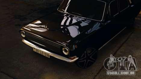 Gaz 24 Volga para GTA 4 traseira esquerda vista
