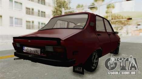 Dacia 1310 TX Realistica para GTA San Andreas esquerda vista