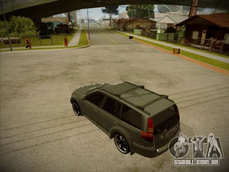 Great Wall Hover H2 2008 para GTA San Andreas esquerda vista