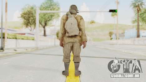 COD BO Nikholai para GTA San Andreas terceira tela