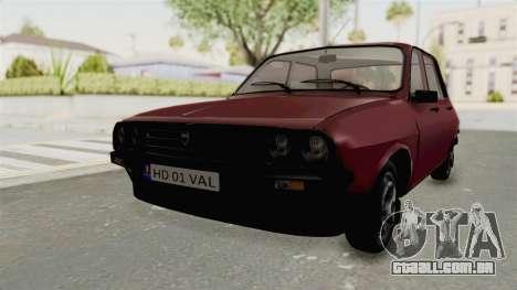 Dacia 1310 TX Realistica para GTA San Andreas vista direita