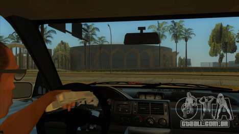 Ford Escort V2 para GTA San Andreas vista interior