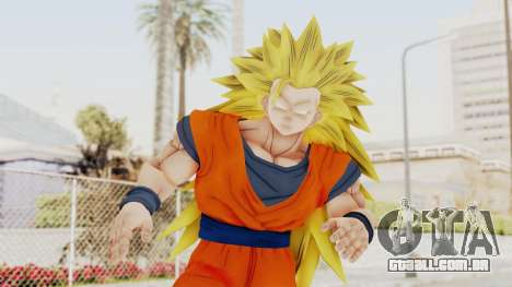 Dragon Ball Xenoverse Goku SSJ3 para GTA San Andreas