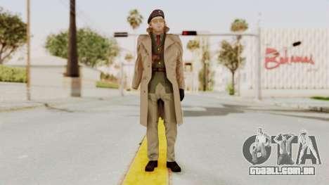 MGSV TPP Kazuhira Miller Motherbase para GTA San Andreas segunda tela