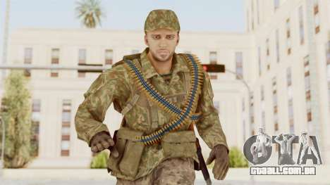 MGSV The Phantom Pain Soviet Union LMG v1 para GTA San Andreas