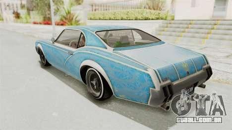 GTA 5 Declasse Sabre GT2 para as rodas de GTA San Andreas