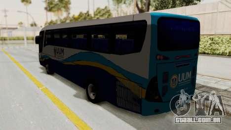 Marcopolo UUM Bus para GTA San Andreas esquerda vista