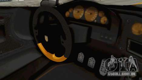 GTA 5 Pegassi Zentorno PJ para GTA San Andreas vista interior